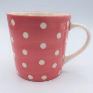 Starbucks  2006 Pink & White Polka Dots 13oz. Mug